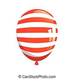 usa, csíkoz, fesztivál, dekoráció, fehér, amerikai, helium léggömb, háttér, lobogó
