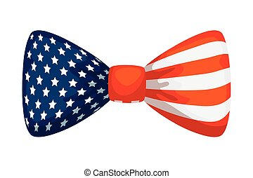 usa lobogó, jelkép, fehér, csomó, egyesült, íj, háttér, egyesült államok