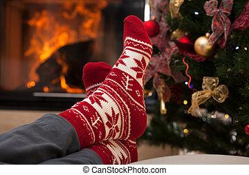 után, karácsony, kipiheni magát