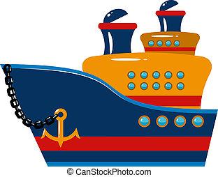 utas hajó, cirkálás