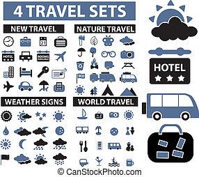 utazás, cégtábla, 100