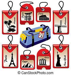 utazás, elnevezés