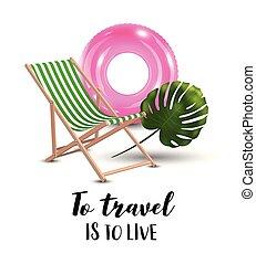 utazás, fogalom, szeret, vector., ábra