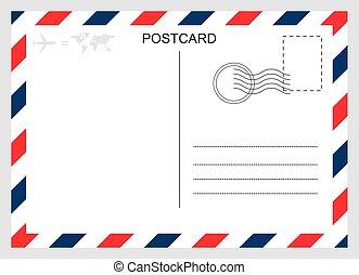 utazás, grafikus, elszigetelt, tiszta, kártya, tervezés, háttér., modern, levelezőlap