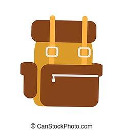 utazás, hátizsák, háttér