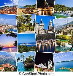 utazás, horvátország, fénykép, kazal