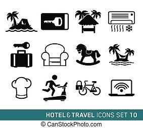 utazás, hotel
