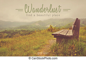 utazás, ihlet, wanderlust, idézőjelek