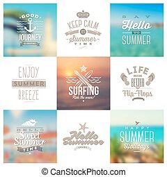 utazás, nyár, cégtábla