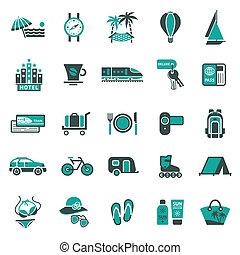 utazás, signs., pihenés