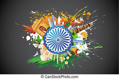 változatosság, india