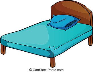 vánkos, ágy