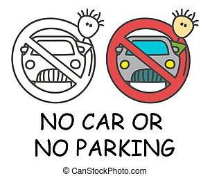 várakozás, elszigetelt, jelkép., autó, háttér., böllér, alkoholmérési tilalom, places., fehér, nem, prohibition., kitart bábu, terület, gyermekek, vektor, piros, furcsa, abbahagy, ikon, aláír, style., autó