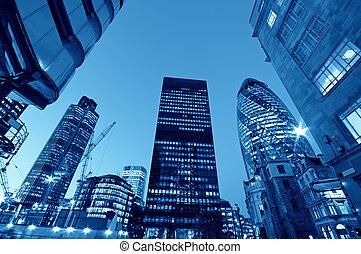 város, felhőkarcoló, london.