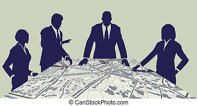 város, planners