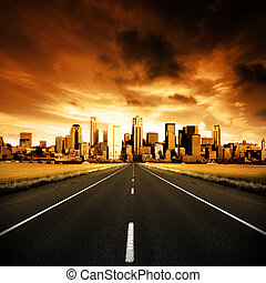 városi, autóút