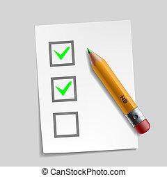 vásárló, ábra, megjelöl, felmérés, tervezés, ellenőriz