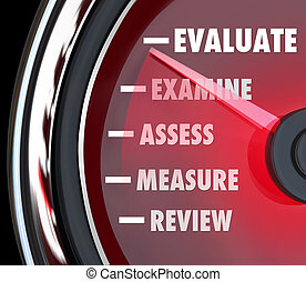 véghezvitel felülvizsgálat, értékelés, megmér, sebességmérő