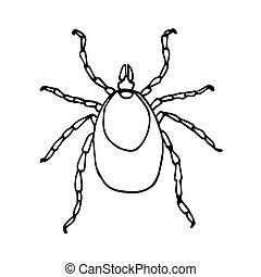 ricinus parazita