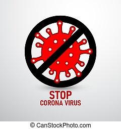 vírus, 2, korona