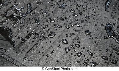 víz, autó, drop., szőnyeg