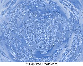 víz csobog, ábra
