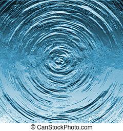 víz csobog