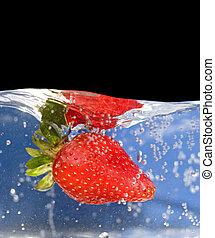 víz, eper