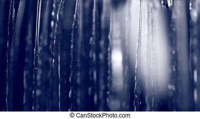 víz esik