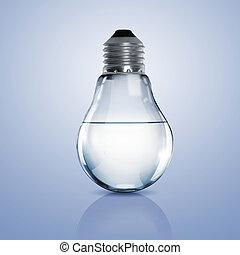 víz, fény, elektromos, kitakarít, gumó