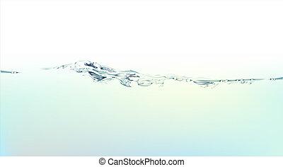 víz, loccsanás, folyékony