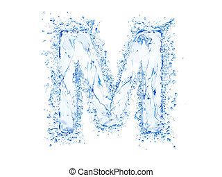 víz, loccsanás, levél m