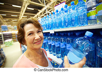 víz, nő