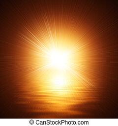 víz, napfény