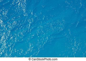víz, párolás, tenger, felszín