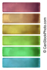 vízfestmény, állhatatos, transzparens, színes, textured