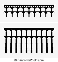 vízvezeték, bridzs, római