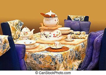vacsora, 2, asztal