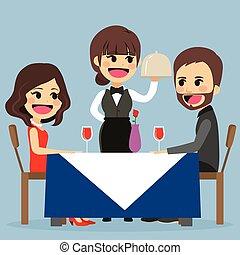 vacsora, romantikus