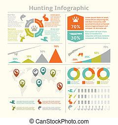 vadászat, infographics