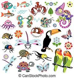 vad állat, karikatúra