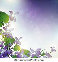 vad virág, ibolya