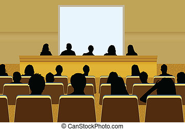 vagy, összead, hajítás, tanácskozás, ügy, szöveg, screen., tolong, -e, bemutatás, személy, másol, audience., termék, tiszta, marketing, elülső