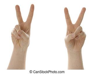 vagy, jelkép, béke, diadal, kézbesít