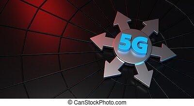 vakolás, transzparens, 5g, technológia, 3