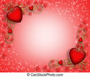 valentines, határ, nap