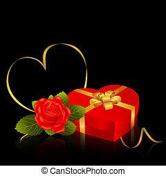 valentine's nap kártya, köszönés