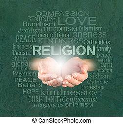 vallás, egyetlen, jóság, igaz