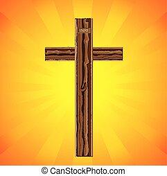 vallásos, betű, krisztus, jézus