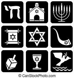vallásos, judaizmus, cégtábla